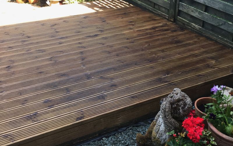 Decking Cleaning Worcester, Worcestershire